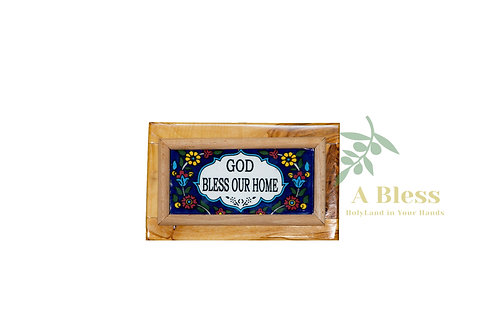 God Bless our Home - Wall Hanging