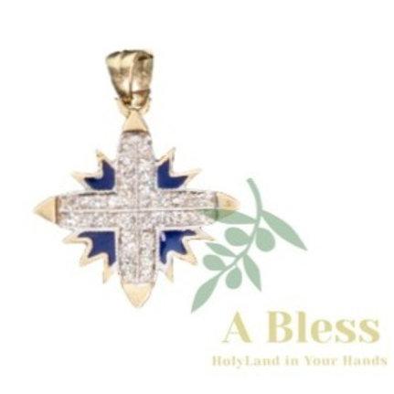 Starof Bethlehem Diamond Pendant