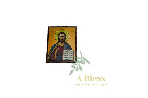 Olive Wood Icon