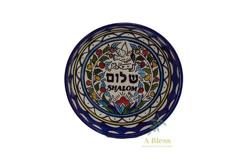 Ceramic Bowl - Shalom