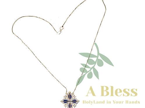 Jerusalem Cross Pendant & Necklace