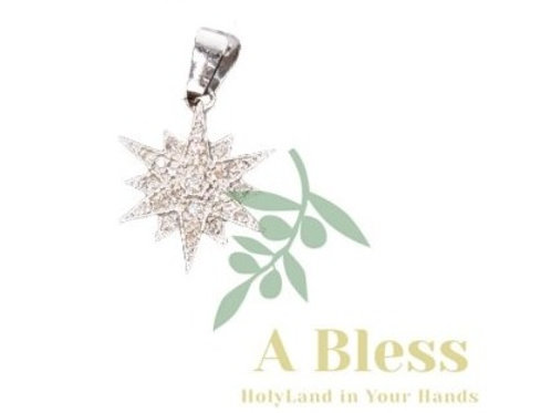 Star of Bethlehem Diamond Pendant
