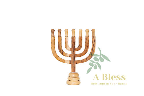 Menorah with 7 branches