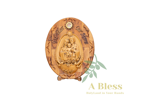 Holy Family Wooden Stand