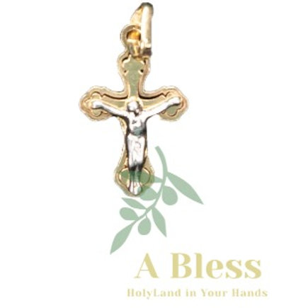 Small cross with crucifix pendant