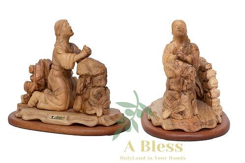 Jesus Praying Statue