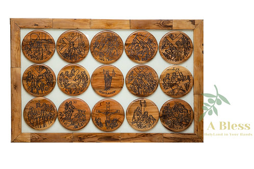 The Stations of the Cross - Wall Hanging