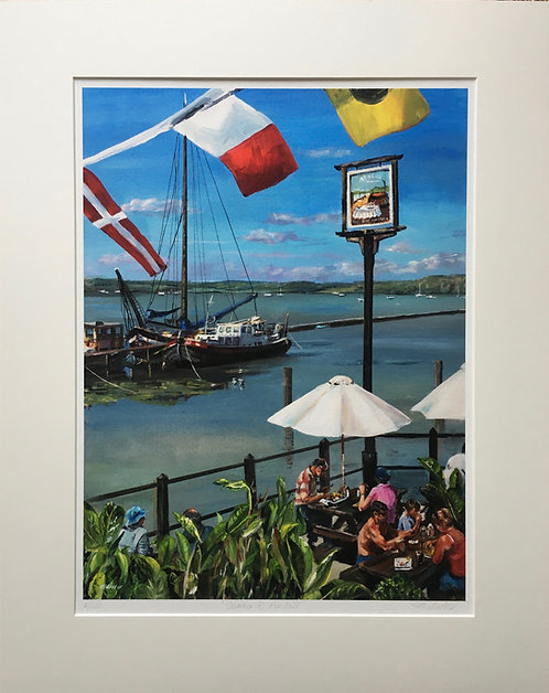 """Summer at Pin Mill"""