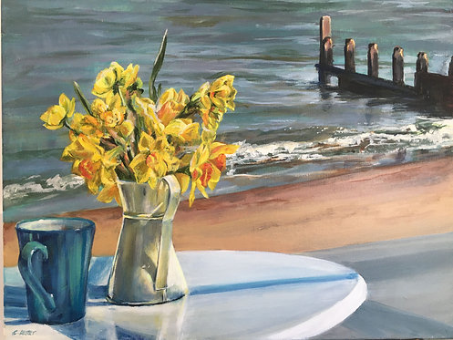 """""""At the Southwold Cafe"""""""