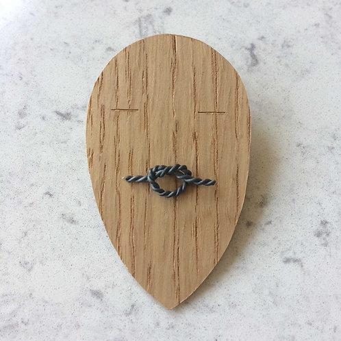 knot pin No.9