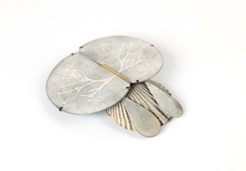 mirror mirror brooch