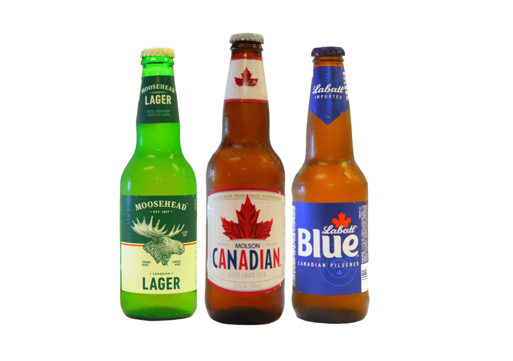 Try our selection of Canadian beers!