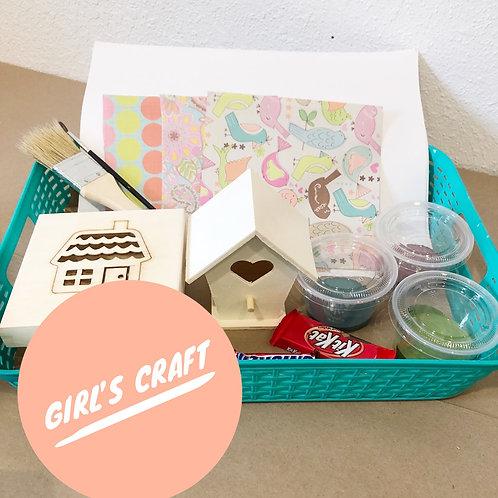 Girls Craft Pick-Up