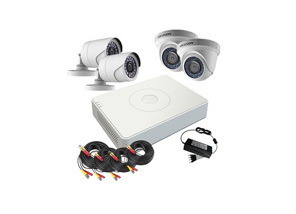 Network HD IP 2MP KIT 4-Channel Hikvision
