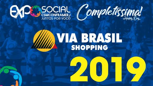 EXPOSOCIAL SHOPPING VIA BRASIL 2019
