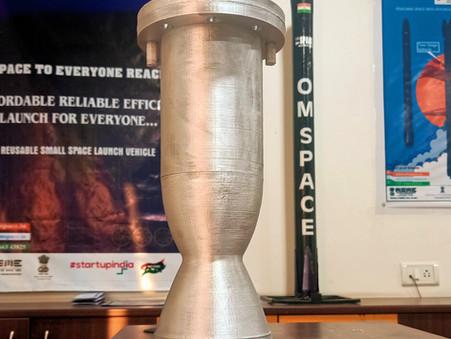 100% 3D Printed Omspace Rocket Engine v1.0