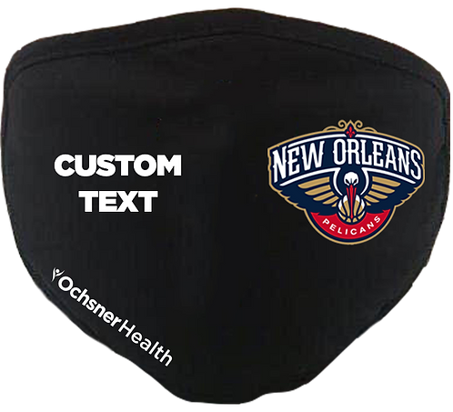 NOLA Pelicans Custom Text