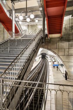 Métro Paris, station Cité