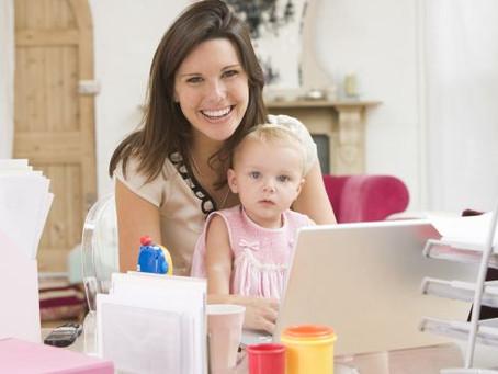 Lavoro da casa e figli: 6 consigli su come organizzarsi al meglio