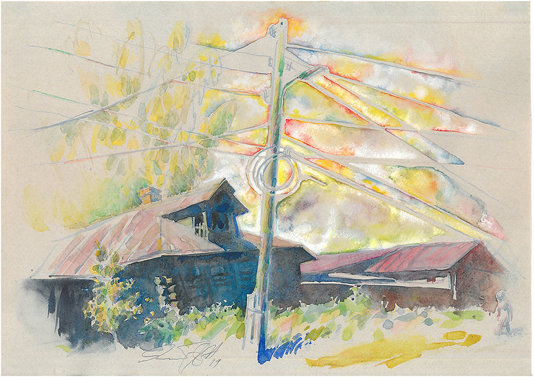 RUMBLE OF WIRES AND COLOR RATTLING - Vladimir Yakobtchuk