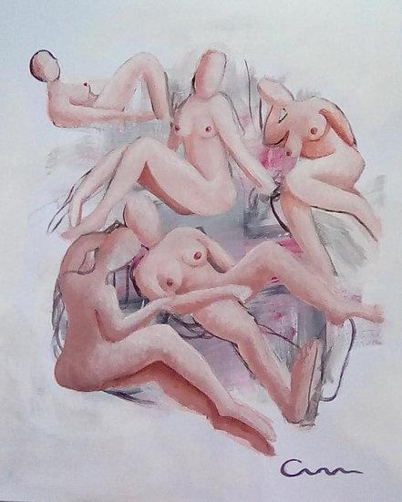 FIVE NUDES - Cathryn Houlton