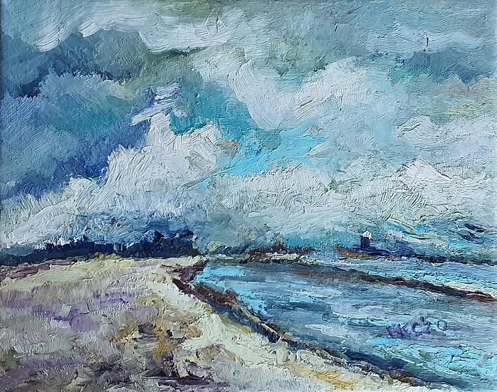 MORNINGTON BEACH II - Krystyna Krasowska-Cicha