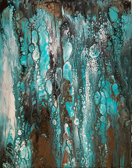 CORRODED TURQUOISE - Tim Morris