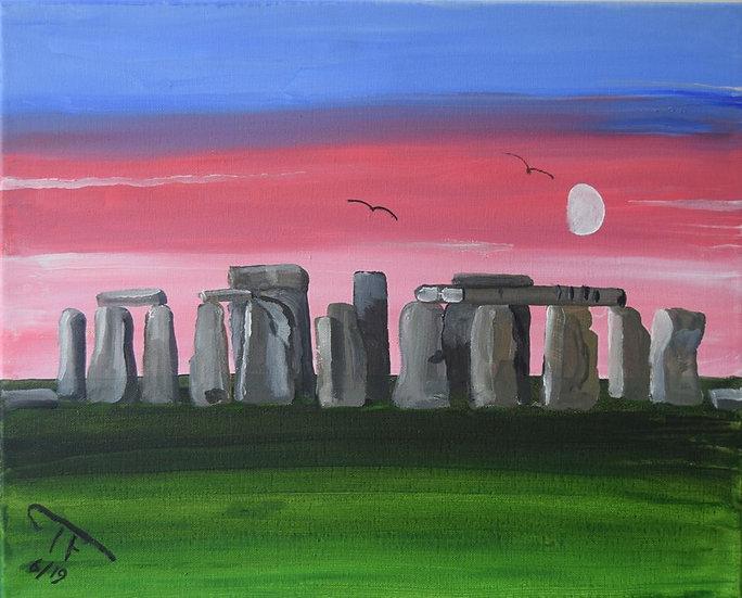 STONEHENGE, ENGLAND - Trevor Fletcher