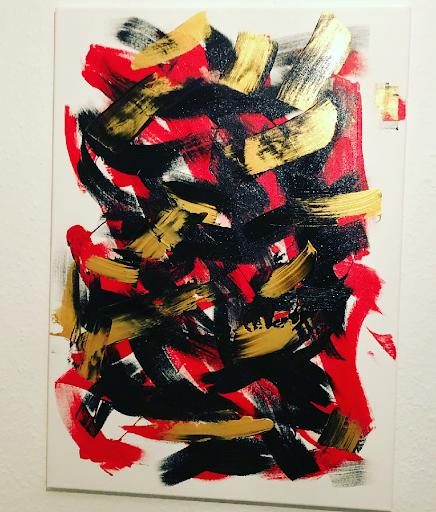 BLACK RED GOLD - Kushtrim Krasniqi