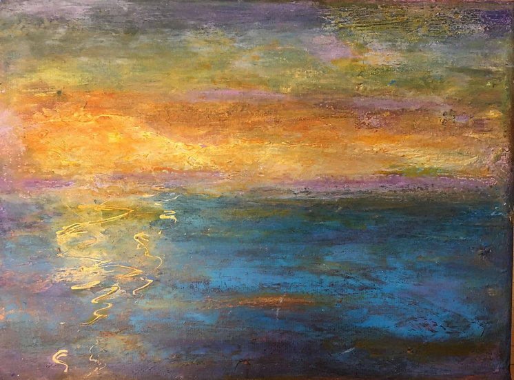 SUNSET IMPRESSION - Maria Rogers