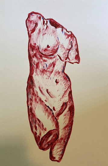 REINTERPRETATION OF  HELLENISTIC APHRODITE - Gianna Satarino