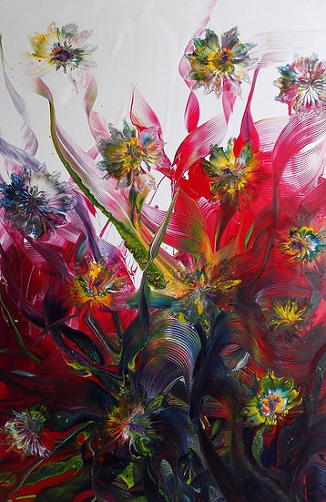 PINK RAINBOW'S FLOYD - Jadwiga Hajdo