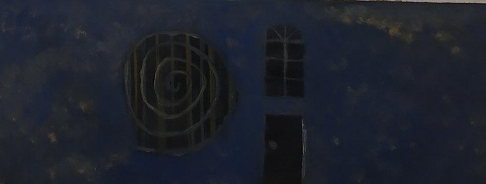 DARK BLUE HOUSE - Nairi Mesropyan