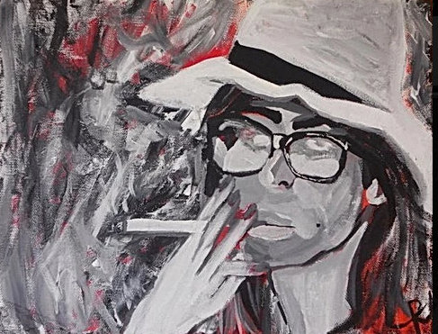 MAN WITH A STRAW HAT - Candice Alise