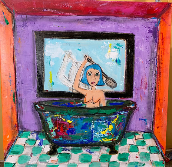 IN THE BATH - Eileen Olimb