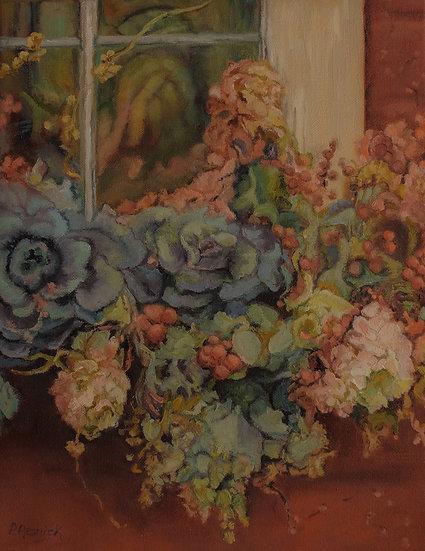 AUTUMN WINDOW BOX - Pamela Resnick