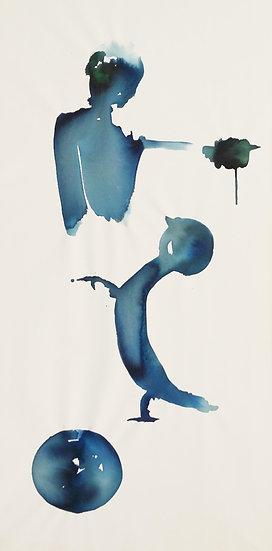 THREE COLOURS BLUE - Susanne Scheffczyk