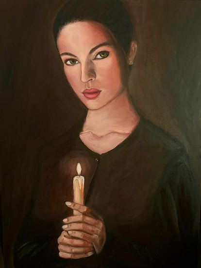 THE WOMAN WITH THE GLOWING LIGHT - Hayam Elsa