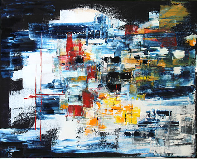 Search - oil on canvas - 40 x 50 cm - 20