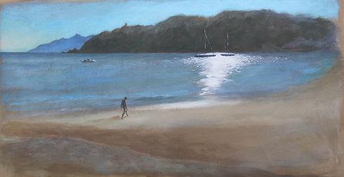 A Barra, 48 x 92 cm, oil on canvas, 2016