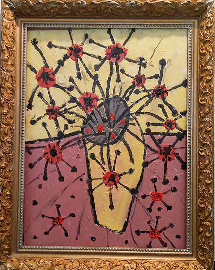 COVID FLOWERS - David Burton-Richardson
