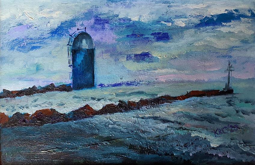 MORNINGTON BEACH I - Krystyna Krasowska-Cicha