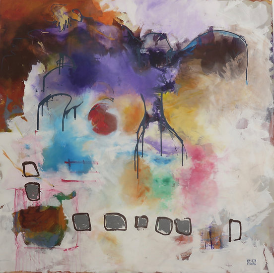 COLOUR ME PURPLE - Christine Crowley