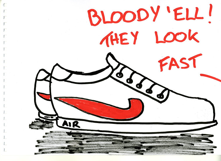 FAST SHOES - Mark Perry-Young