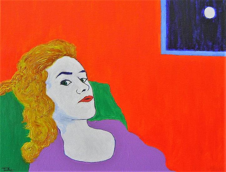 WOMAN IN VIOLA - Tullio Mesi