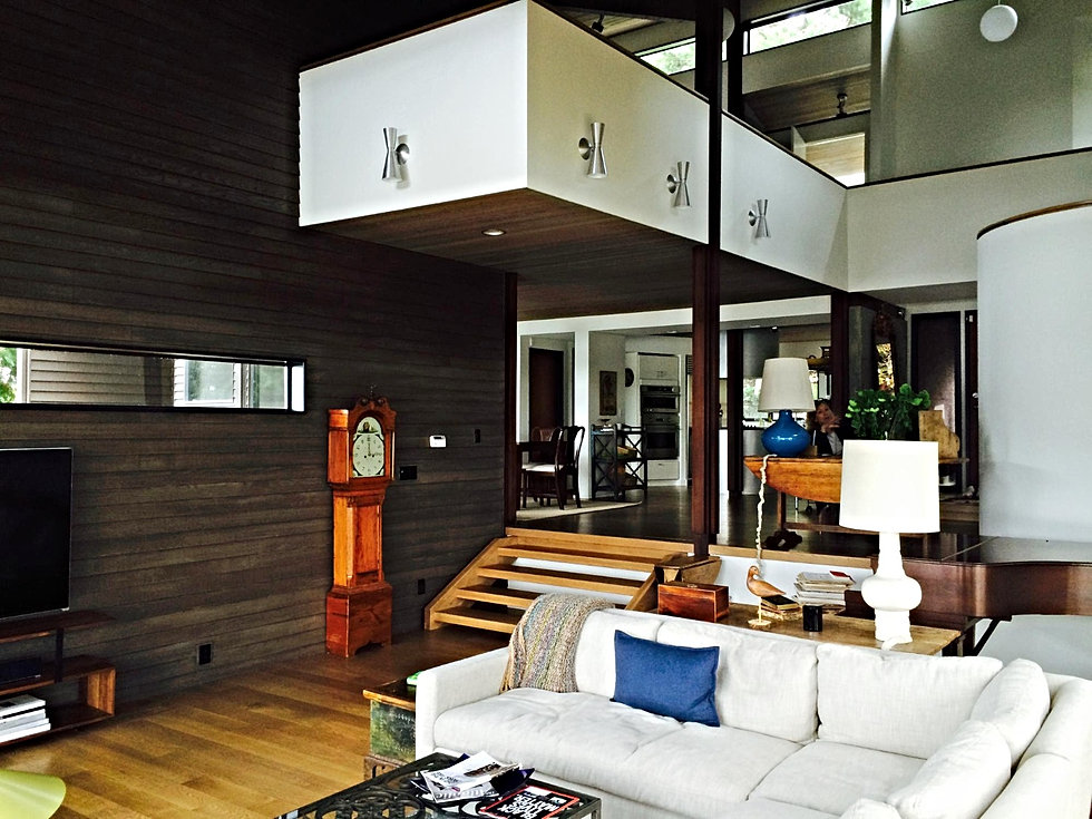 Interior Paint Stain Wood Paneling