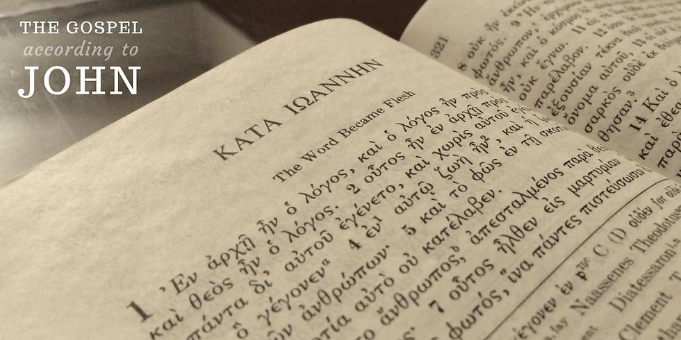 Sunday School Study of the Gospel of John