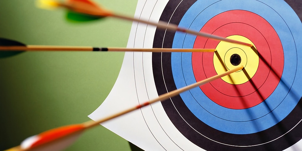 Archery Ministry, Every Friday in March, in the Fellowship Hall