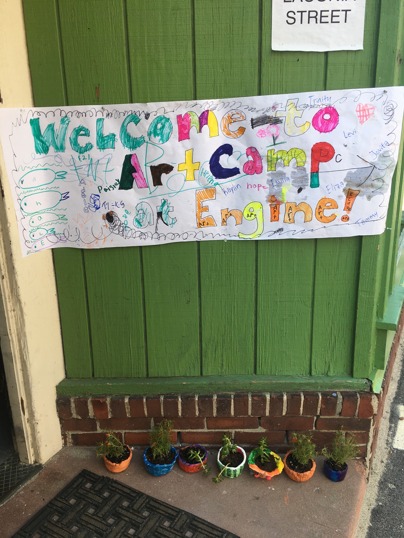 Engine Art Camp Banner