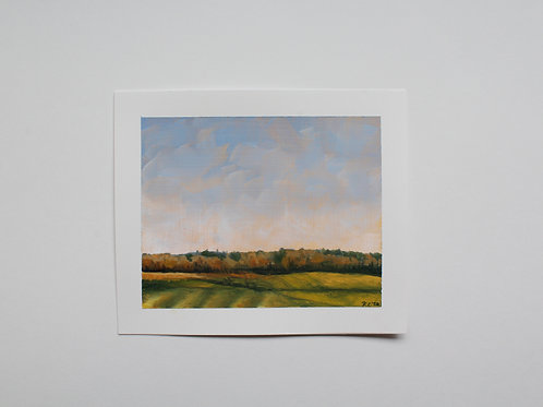 """Dow"" 5x6 original oil painting"